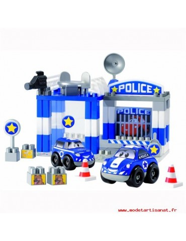 Jouet Caserne Police- dés...