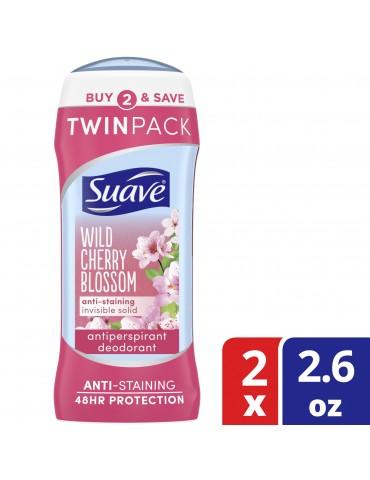 Déodorant Suave wild Cherry...