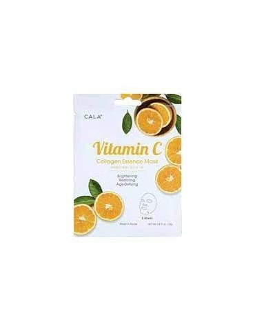Masque visage à la vitamine C